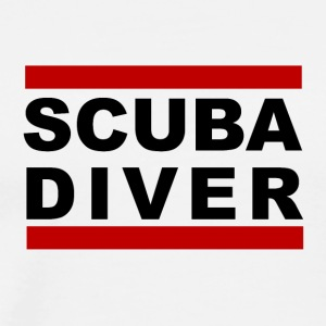 DIVERTURE Scuba Diver - Men's Premium T-Shirt