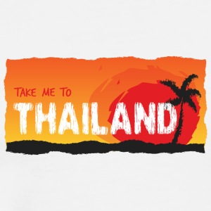Take Me To Thailand - Mannen Premium T-shirt