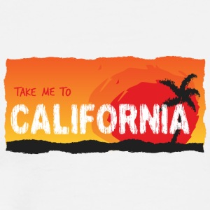 Take Me To California - Mannen Premium T-shirt