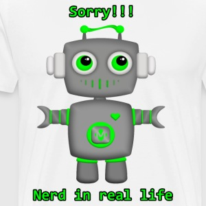 small robot - Men's Premium T-Shirt