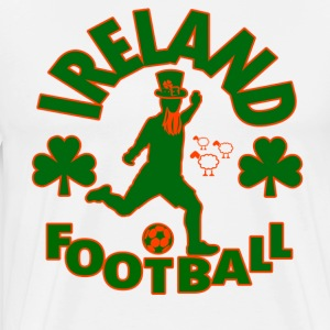 Ireland Football - Mannen Premium T-shirt