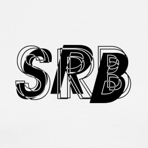 SRB - All Over - Mannen Premium T-shirt