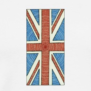 Unique British flag - Premium-T-shirt herr