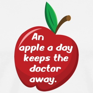 An apple a day... - Männer Premium T-Shirt