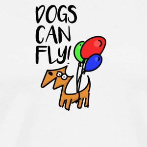 Flying Dog - Herre premium T-shirt
