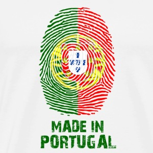 Portugal flag - Made in Portugal - gift - Men's Premium T-Shirt