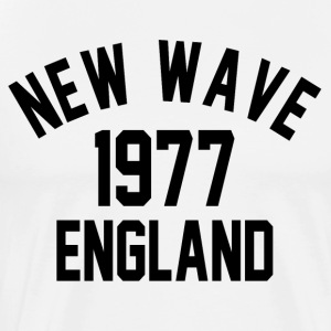 New Wave 1977 England - Premium-T-shirt herr