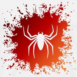 Spinne Spider Splash - Männer Premium T-Shirt