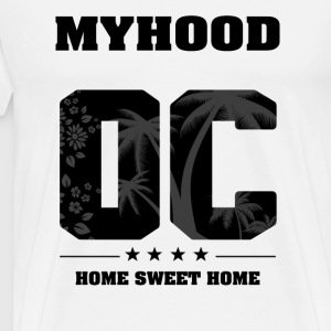 I Love My Hood - Orange County - Herre premium T-shirt