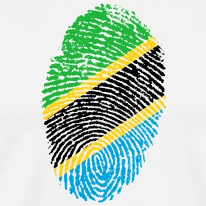 Fingerprint - Tanzania - Men's Premium T-Shirt