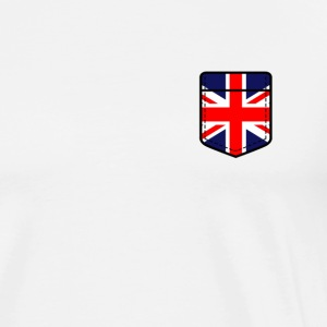 Great Britain England flagg engelsk London UK - Premium T-skjorte for menn