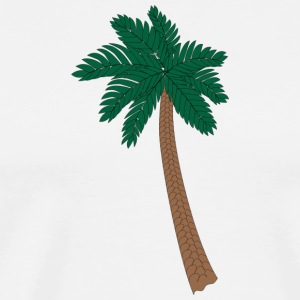 Palm Illustration - Herre premium T-shirt