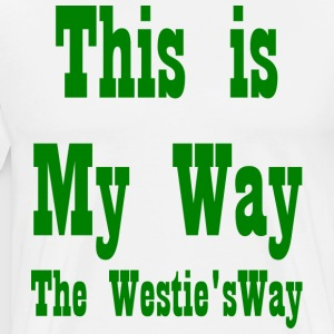 This is My Way Green - Men's Premium T-Shirt