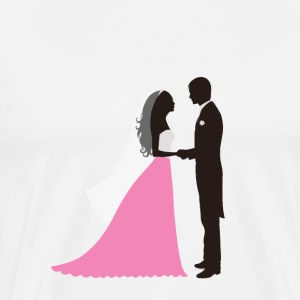 newlyweds - Men's Premium T-Shirt