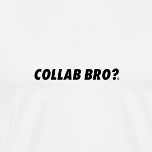 COLLAB BRO? ORIGINALS BLACK EDITION - Maglietta Premium da uomo