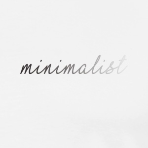 Minimaliste Vêtements UK - T-shirt Premium Homme
