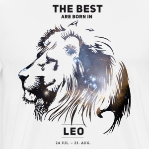 leo-star Leo constellation horoscope July birthday b - Men's Premium T-Shirt
