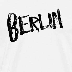 Berlin Black - Mannen Premium T-shirt