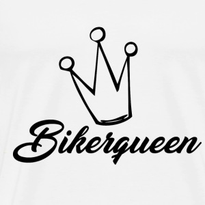 Biker Queen - Premium T-skjorte for menn