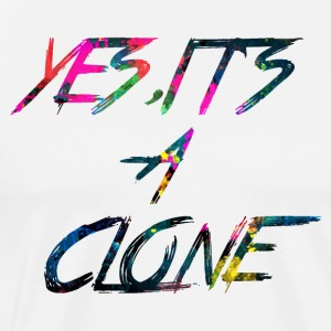 regenboog YES IT SA CLONE - Mannen Premium T-shirt