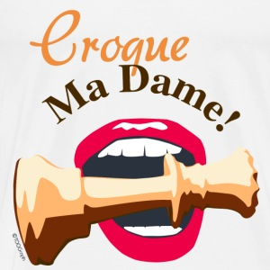 Croque My Lady - Herre premium T-shirt