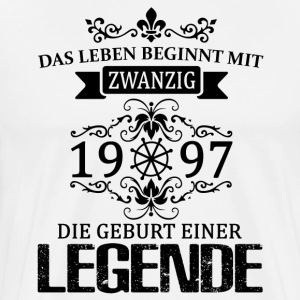 ++ 1997 - The birth of a legend ++ - Men's Premium T-Shirt