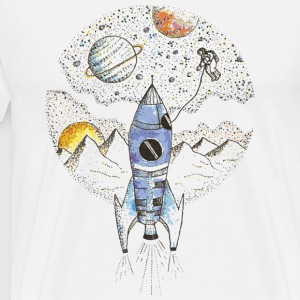 Dream Spacecraft - Men's Premium T-Shirt
