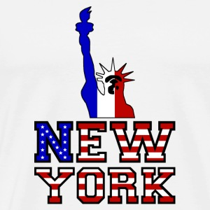 New York Liberty - Premium-T-shirt herr