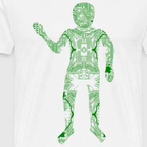 Digital Hardware Man - Männer Premium T-Shirt