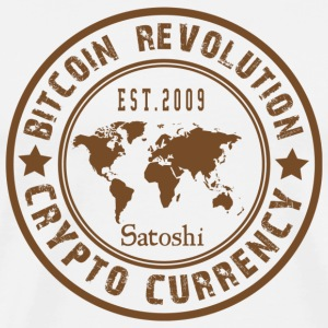 Bitcoin Revolution - Premium T-skjorte for menn