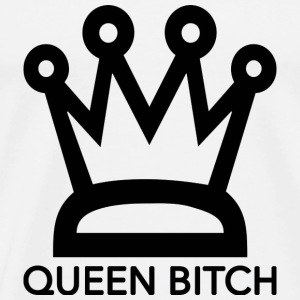 QueenBitch - Premium-T-shirt herr