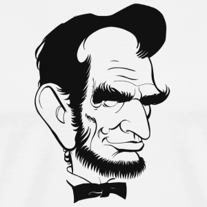 Abraham Lincoln US President Abe Lincoln - Men's Premium T-Shirt