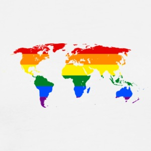 HBTQ WORLD - Premium-T-shirt herr
