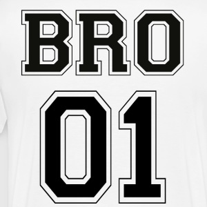 BRO 01 - Black Edition - T-shirt Premium Homme