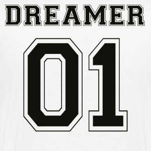 Dreamer 01 - Black Edition - Premium T-skjorte for menn