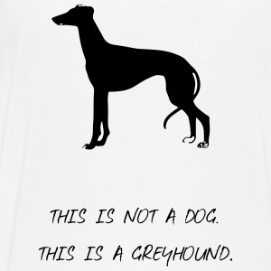 greyhound - Premium-T-shirt herr