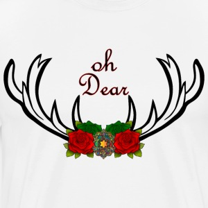 Oh Dear Gift Christmas Christmas Antlers