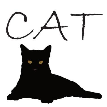 Katt unge svart lesbisk