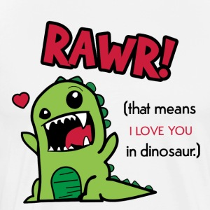 Rawr Means I Love You Dinosaur Gift Idea