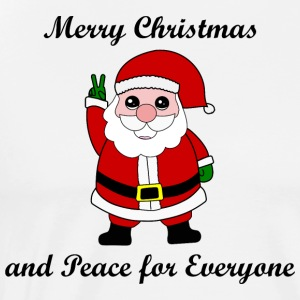 Santa Merry Christmas Gift Idea Peace