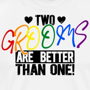 LGBT Gay Two Grooms Wedding - Gift