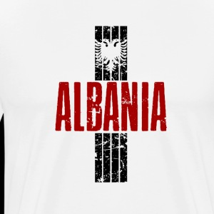 Albania with eagle shirt for man and woman