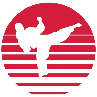 9e9ad238f Karate kick kick kampsport Premium T-skjorte for menn - svart