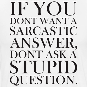 DO NOT WANT SARCASTIC