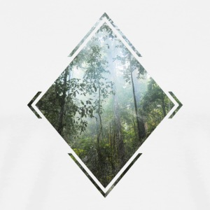 Rainforest Diamond Hipster Shirt