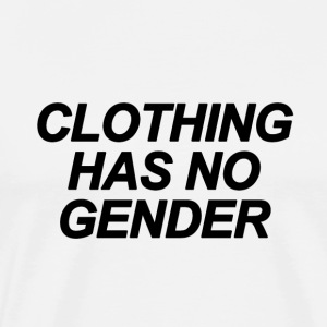 Clothing Has No Gender Black