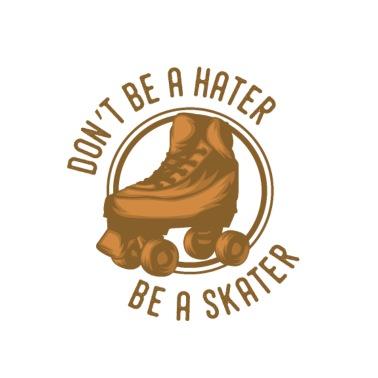 1c9f358399f Rolschaatsen skater rollerblades scooter cadeau - Mannen premium T-shirt