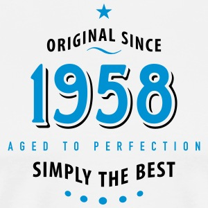 original since 1958 simply the best 60th birthday