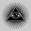 All seeing eye, pyramid, frimurare, Gud, Horus - Premium-T-shirt herr