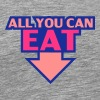All You Can Eat - Herre premium T-shirt